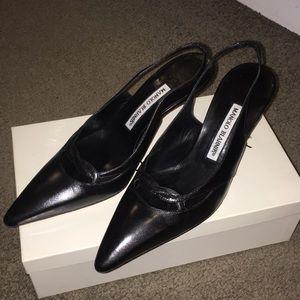Manolo Sling Back heels
